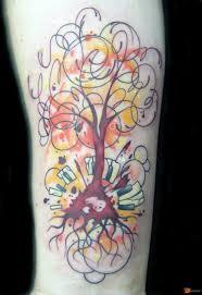 значение татуировки дерево 49 фото