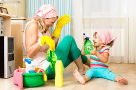 Image result for kids helping around the house