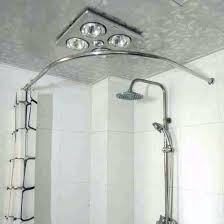 curve shower curtain recommendation idea curved tension shower curtain rod best curved shower curtain rod images