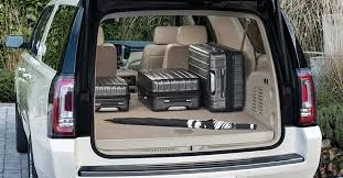 2018 gmc passenger van. interesting van image of luggage and an umbrella loaded in to the cargo area 2018 gmc intended gmc passenger van w