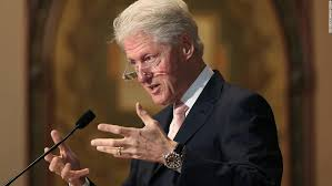 Bill Clinton served as the 42nd president of the United States from 1993 to  2001.