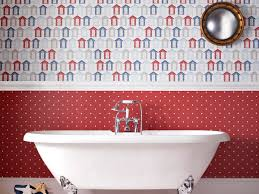 The Anti-Bacteria Contour Wallpaper for Bathrooms