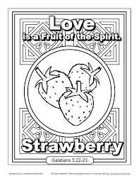 Our coloring pages require the free adobe acrobat reader. Fruit Of The Spirit For Kids Love Coloring Page