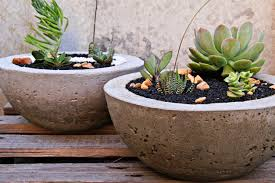 concrete planter ideas how to build concrete flower pots