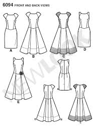 Patterns For Dresses Best 48 New Look Pattern Misses Dresses