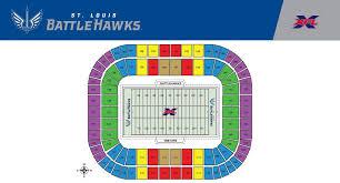 St Louis Battlehawks Reveal Season Ticket Pricing And Perks