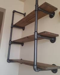 Pvc Pipe Bookshelf How To Make A Freestanding Industrial Pipe Bookcase Pipes