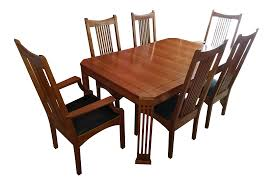 Stickley 21st Century Collection Dining Table Set With 6 Chairs