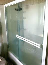 hard water stain remover shower door best way to clean glass shower doors with hard water