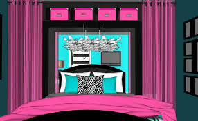Navy And Pink Bedroom Room Tour 14 Makeover Mondays Hot Pink Bedroom Youtube