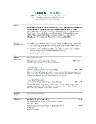 Best Objective Statement For Resume Objective Example On A Resume