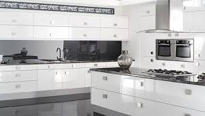modern white cabinet doors. stylish gloss white cabinet doors reflections high kitchen modern other