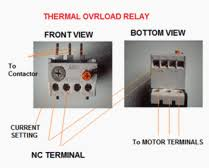 direct on line (dol) motor starter Overload Relay Wiring Diagram dol part termal overload relay c440 overload relay wiring diagram