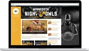 Awesome Team Sports Websites League Website Builder