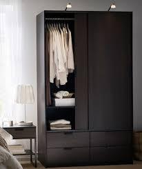 bedroom closets and wardrobes. Modren Wardrobes Bedroom_TRYSIL_Wardrobewslidingdoors4drawers_darkbrown Throughout Bedroom Closets And Wardrobes