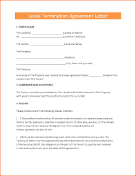 5 End Of Lease Letter To Tenant Adjustment Letter