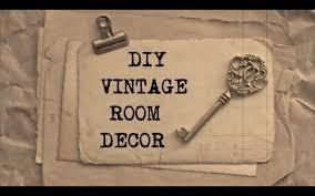 Vintage Room Decor Diy Vintage Room Decor 2 Haley Bronwen Youtube
