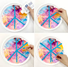 40+ coffee filter crafts for kids and adults, including ideas for making flowers, butterflies, wreaths, roses, and snowflakes, as well as crafts for christmas, halloween, and fall. Coffee Filter Snowflake Art Fantastic Fun Learning