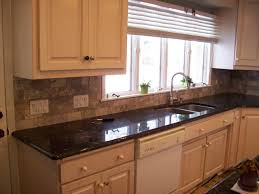 Kitchen With Stone Backsplash Stone Backsplash Ideas Kitchen Modern Gray Mosaic Tile Kitchen