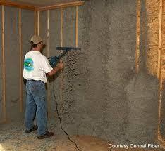 blown in cellulose insulation. Contemporary Blown Cellulose Insulation Sprayed With Moisture Added Installation For Blown In S