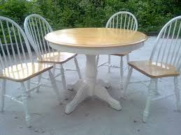 chic round dining table awesome top shabby chic round dining table chairs home fight for life