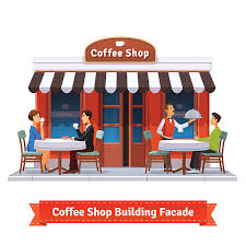 coffee bar clipart. Delighful Coffee Royalty Free Coffee Shop Exterior Clip Art On Bar Clipart 2