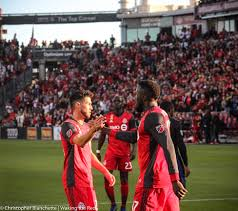 toronto fc photo essay reds win fifth straight against san jose  1 of 20