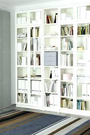 wll librry bookcase with glass doors ikea billy review