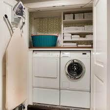 Closet Laundry Room with Ironing Board
