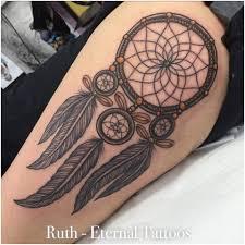 Beautiful Dream Catcher Tattoos 100 Unique Dreamcatcher Tattoos 22