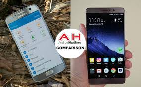 Phone Comparisons Samsung Galaxy S7 Vs Huawei Mate 9