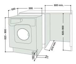 washing machines dimensions. Exellent Dimensions BHWM1292 Dimensions With Washing Machines