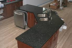 Emerald Pearl Granite Kitchen