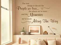 the best things in life are wall art e sticker decal modern transfer