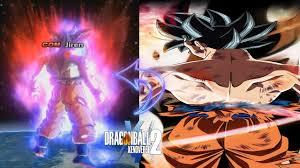 Goku Limit Breaker Light Poster Goku Ultra Instinct Poster Custom Aura Vs Jiren Dragon Ball Xenoverse 2