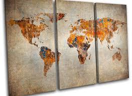 posters wall art ikea world map canvas