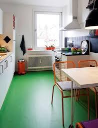 green kitchen flooring image