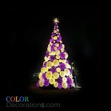 Decorating Christmas Tree With Balls Impressive CDTR32 LED Outdoor PVC Christmas Trees Decorations Ball Christmas