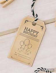 Birthday Tags Template 49 Free Tag Templates Download Ready Made Template Net