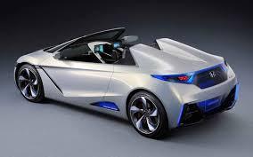 2018 honda sports car. interesting honda 2018 honda s2000 concept rear angle to honda sports car