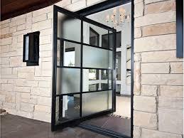 industrial front door ideas freshome com