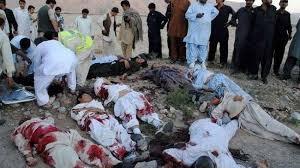 Image result for شمار شهدای حمله داعش به زیارتگاه مسلمانان پاکستان از مرز 60 تن گذشت