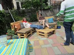Wood Pallet Outdoor Furniture Set  Pallet IdeasPallet Furniture For Outdoors