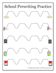 Penmanship Worksheets Cursive For Grade 4 Five Little Monkeys Italic