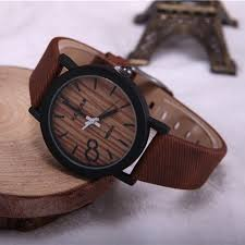 aliexpress com buy simulation wooden relojes quartz men watches aliexpress com buy simulation wooden relojes quartz men watches casual wooden color leather strap watch wood male wristwatch relogio masculino from