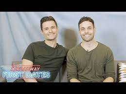 Broadway First Dates: Mark Evans and Justin Mortelliti - YouTube