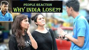 Indian Public Reaction After Losing Match | Q & A | Cute Girls | ICC  Champions Trophy | Virat Kohli