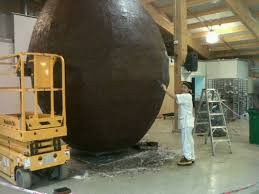 Resultado de imagen de imagenes de huevos de pascua gigantes