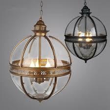 round globe light fixture lighting designs