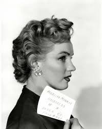 Marilyn Monroe Hairstyle Marilyn Monroe In A Hair Test For Dont Bother To Knock 1951